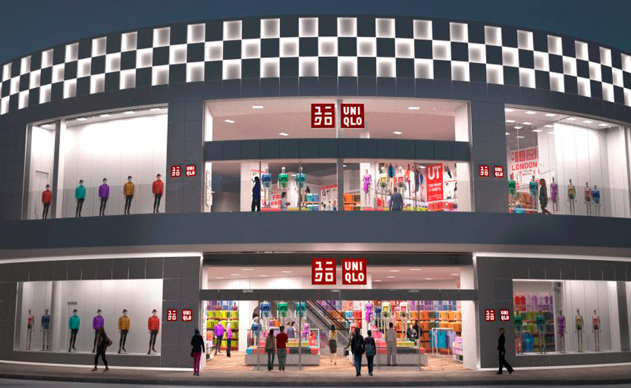 Uniqlo Store at Pacific Fair Vitrabond ACP