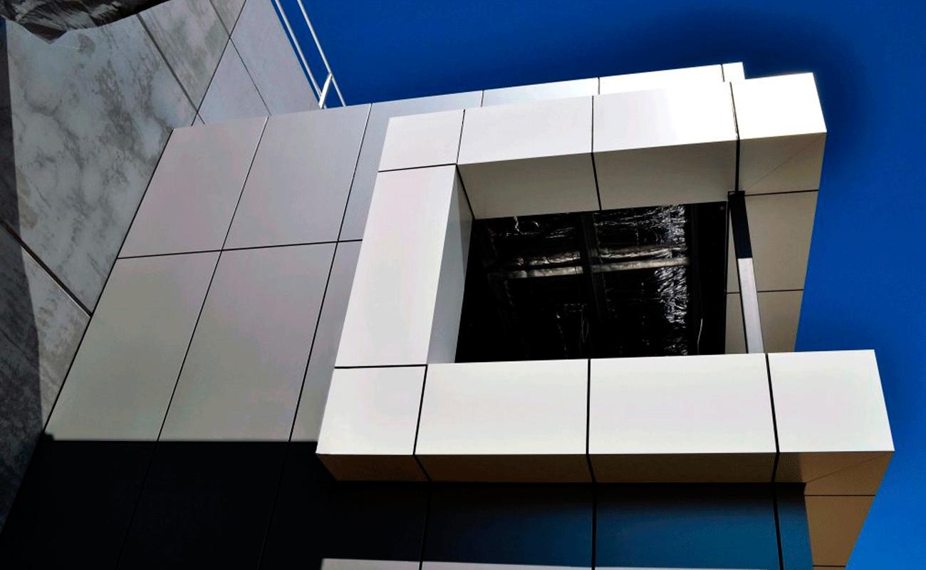 Caringbah warehouse vitrabond detail