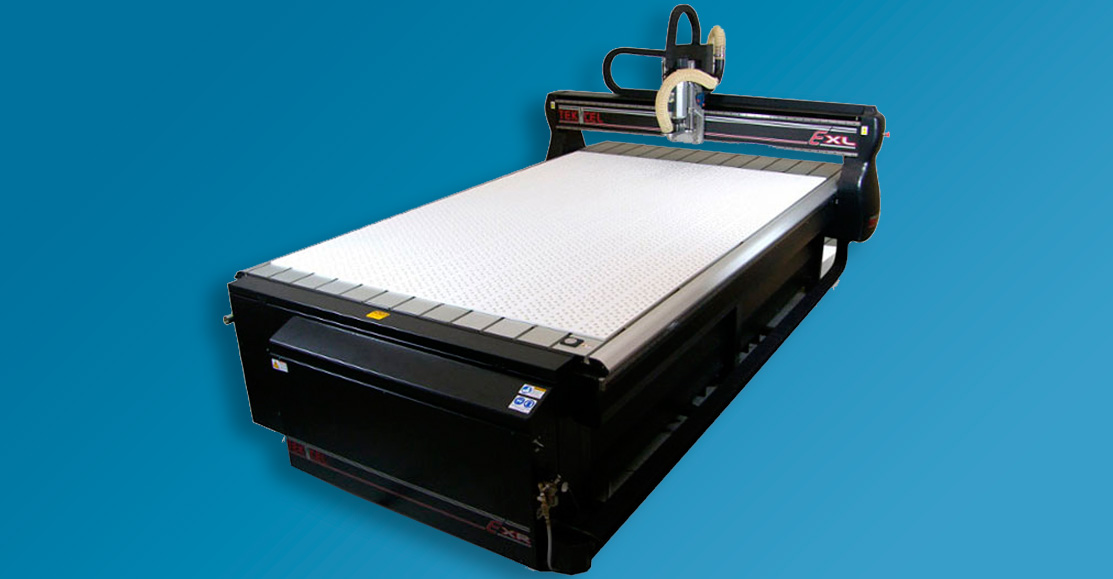 Large capacity CNC router